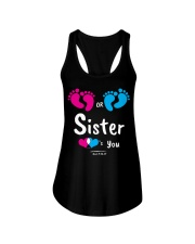Sister Loves you Ladies Flowy Tank thumbnail