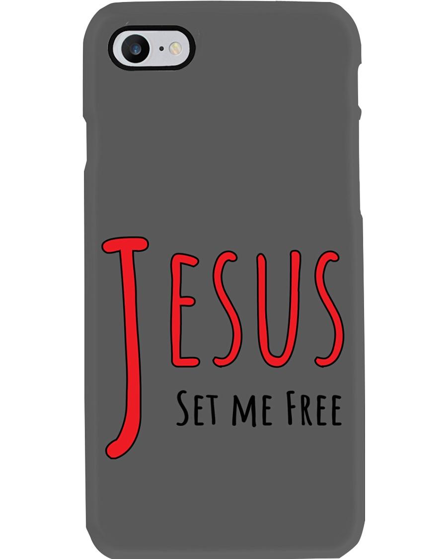 Jesus set me Phone Case