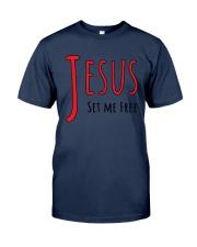 Jesus set me Classic T-Shirt thumbnail