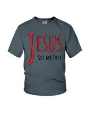Jesus set me Youth T-Shirt thumbnail