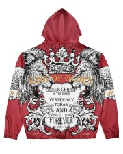 KING OF GLORY Men's All Over Print Hoodie back