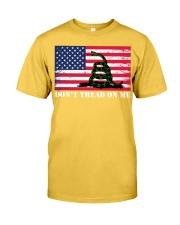Chris Pratt Don't tread on me t-shirt Classic T-Shirt front