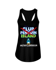 NOT MY CLUB PENGUIN -CLUB PENGUIN ISLAND Ladies Flowy Tank thumbnail