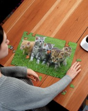 Cats Puzzle - LIMITED EDITION -  250 Piece Puzzle (horizontal) aos-jigsaw-puzzle-250-pieces-horizontal-lifestyle-front-15