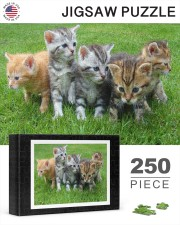 Cats Puzzle - LIMITED EDITION -  250 Piece Puzzle (horizontal) aos-jigsaw-puzzle-250-pieces-horizontal-lifestyle-front-25