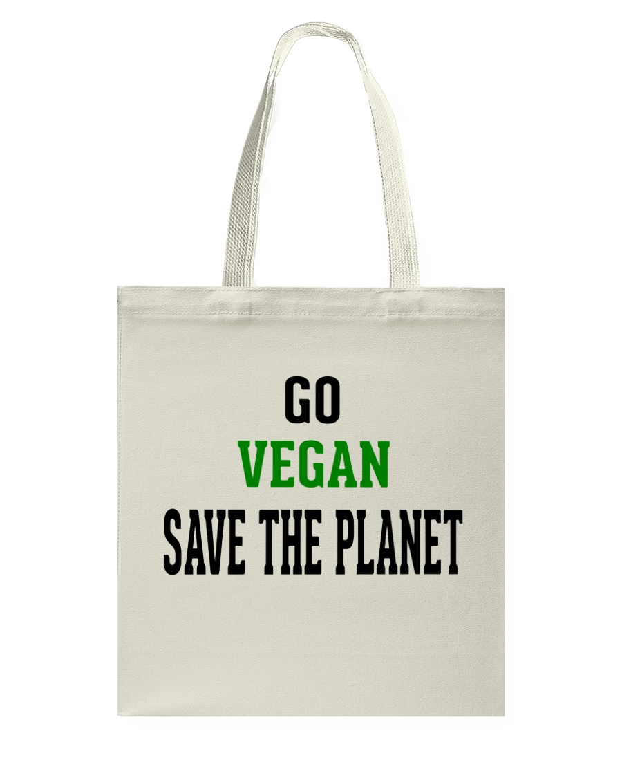 Go Vegan and Save the planet - Limited Edition -  Tote Bag