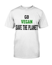Go Vegan and Save the planet - Limited Edition -  Classic T-Shirt tile