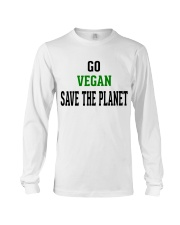Go Vegan and Save the planet - Limited Edition -  Long Sleeve Tee thumbnail