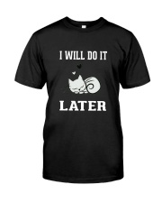 I Will Do It Later Cat Shirt -LIMITED EDITION- Premium Fit Mens Tee thumbnail