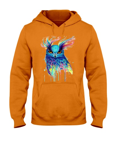 Colorful Owl - Multicolored - Owl Lover Gift
