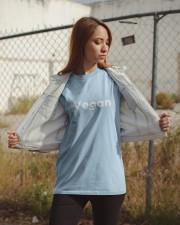 Vegan T-shirt  - Limited Edition - Classic T-Shirt apparel-classic-tshirt-lifestyle-07