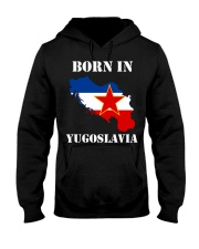 T-shirt born in yugoslavia Hooded Sweatshirt thumbnail