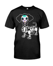 Halloween Dachshund Classic T-Shirt front
