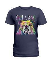 Bulldog Ladies T-Shirt thumbnail