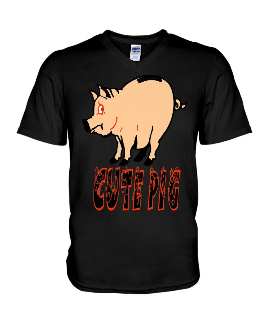 Untitled-4 V-Neck T-Shirt