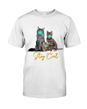 Stay Cool Masked Cats T-Shirt Classic T-Shirt front