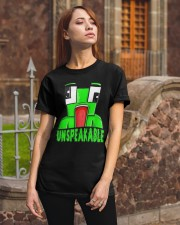 Find Unspeakable T-Shirt Classic T-Shirt apparel-classic-tshirt-lifestyle-06