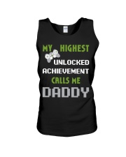 Nerdy Funny Fathers Day Gamer Dad Video Shirt Unisex Tank thumbnail