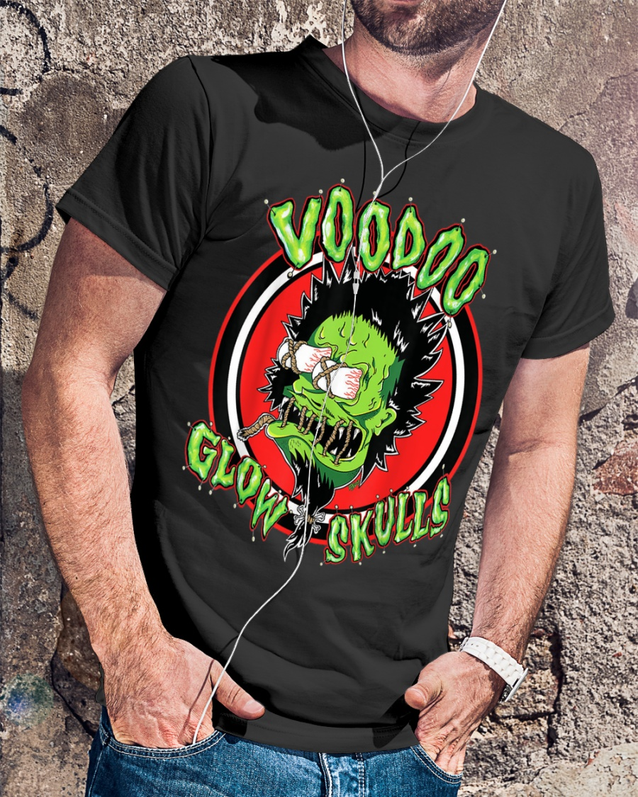New Voodoo Glow Skulls Concert Poster Men/'s Black T-Shirt Size S-3XL