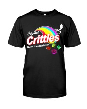 Crittles Taste The Painbow Funny DND DM D20 Shirt Classic T-Shirt front