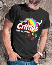 Crittles Taste The Painbow Funny DND DM D20 Shirt Classic T-Shirt lifestyle-mens-crewneck-front-4
