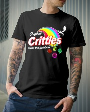 Crittles Taste The Painbow Funny DND DM D20 Shirt Classic T-Shirt lifestyle-mens-crewneck-front-6