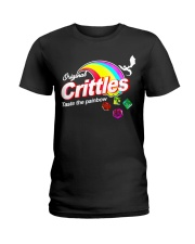 Crittles Taste The Painbow Funny DND DM D20 Shirt Ladies T-Shirt thumbnail