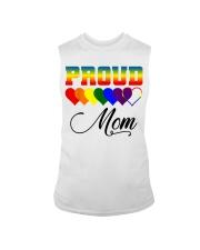 LGBT Pride Proud Mom LGBT Gay Lesbian Pride Shirt Sleeveless Tee thumbnail