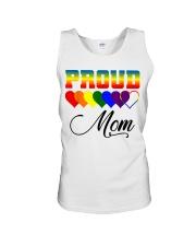 LGBT Pride Proud Mom LGBT Gay Lesbian Pride Shirt Unisex Tank thumbnail