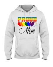 LGBT Pride Proud Mom LGBT Gay Lesbian Pride Shirt Hooded Sweatshirt thumbnail
