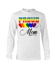 LGBT Pride Proud Mom LGBT Gay Lesbian Pride Shirt Long Sleeve Tee thumbnail