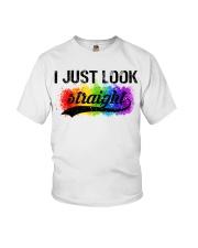 I Just Look Straight LGBT Pride Tshirt Youth T-Shirt thumbnail
