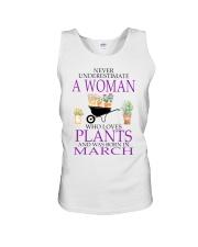 March Woman Unisex Tank thumbnail