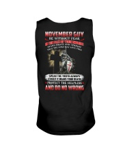 November Man Unisex Tank thumbnail
