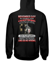 November Man Hooded Sweatshirt thumbnail