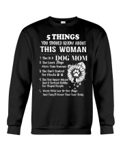 Dog Mom Crewneck Sweatshirt thumbnail