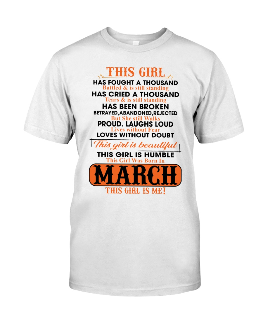 March Girl Classic T-Shirt