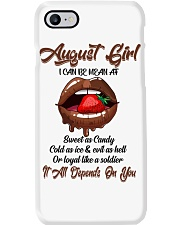 August Girl Phone Case thumbnail