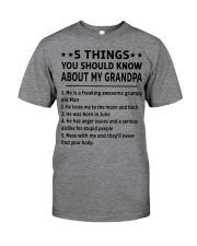 June Grandpa Classic T-Shirt thumbnail