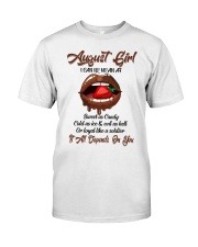 August Girl Classic T-Shirt front