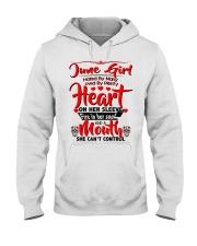 June Girl Hooded Sweatshirt front