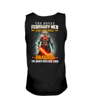 February  Man Unisex Tank thumbnail