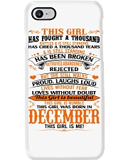 December Girl Phone Case thumbnail