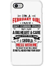 February Girl Phone Case thumbnail