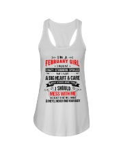 February Girl Ladies Flowy Tank thumbnail