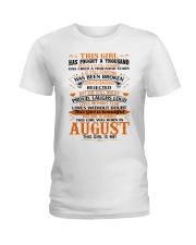August Girl Ladies T-Shirt thumbnail