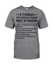 December Grandma Classic T-Shirt thumbnail