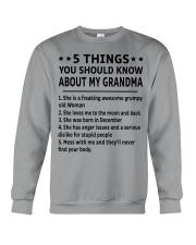 December Grandma Crewneck Sweatshirt thumbnail