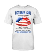 October Girl Classic T-Shirt front