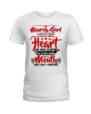 March Girl Ladies T-Shirt thumbnail